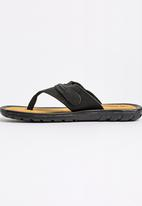 52adcc44491e99 Bata Leather Thong Sandals Black Weinbrenner Sandals   Flip Flops ...