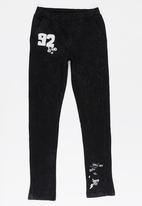 name it - Boys Printed Sweat Pants Black
