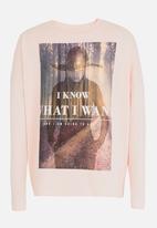 name it - Girls printed tee - pink