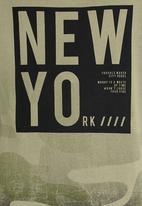 name it - Boys Printed Tee Khaki Green