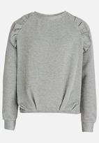 name it - Frilled Sweater Grey