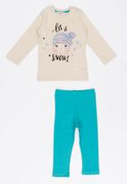 Soobe - Girls Printed Pajamas Set Multi-colour