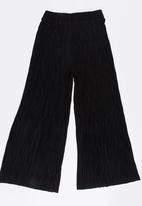 name it - Girls Pleated Trousers Black