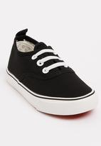 POP CANDY - Canvas Sneaker Black