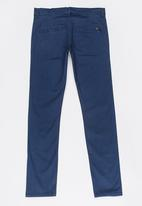 name it - Boys Cuffed Chino Mid Blue