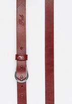 POLO - Leather Zoe Belt Tan