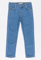 Soobe - Girls Straight Leg Jean Blue