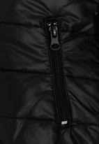 Soobe - Puffer Jacket Black