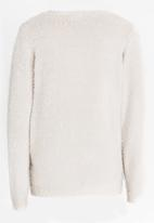 name it - Girls Knitted Top Beige