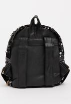 POP CANDY - Girls Sequin Backpack Black