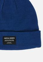 Jack & Jones - Basic beanie - dark blue