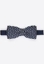 Only & Sons - onsTheis Woven Bow Tie Dark Blue
