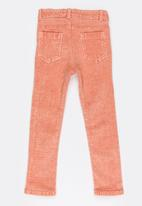 Soobe - Girls Straight Leg Trousers Mid Pink