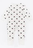 POP CANDY - Printed Sleepsuit White