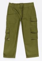 POP CANDY - Boys Chino Pants Khaki Green
