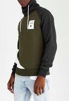 Jack & Jones - Bilt High Neck Sweater Khaki Green