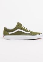 Vans - Suede Old Skool Sneakers Khaki Green
