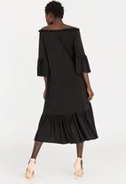 STYLE REPUBLIC - Bardot Volume Dress Black