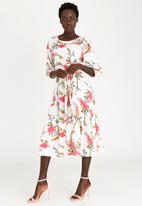 AMANDA LAIRD CHERRY - Morgan Dress Off White