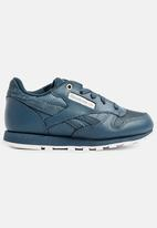 Reebok Classic - Kids reebok classic leather - deep sea