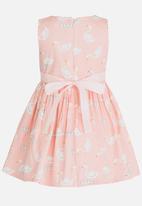 POP CANDY - Duck Print Dress Pale Pink
