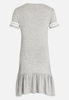 name it - T-Shirt  Dress Grey