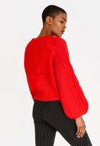 Forever21 - Cable Jersey Red