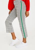 Forever21 - Stripe Detail Pants Grey