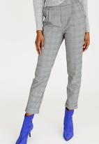 Forever21 - Check Pants Black and White