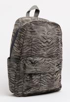 STYLE REPUBLIC - Printed Backpack Grey