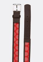 STYLE REPUBLIC - Printed Belt Red