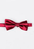 STYLE REPUBLIC - Sheen Bow Tie Red