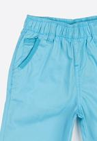 Twin Clothing - Plain Colour Shorts Aqua