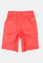 Twin Clothing - Plain Colour Shorts Coral
