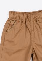 Twin Clothing - Plain Colour Shorts Stone