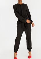 RUFF TUNG - Long Sleeve Jumpsuit Black