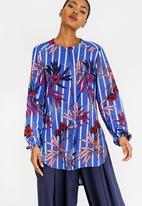 RUFF TUNG - Zip Shirt Multi-colour