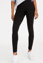 c(inch) - Quality Stretch Leggings Black