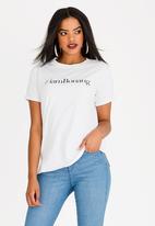BONANG by Bonang Matheba - I Am Bonang T-shirt White