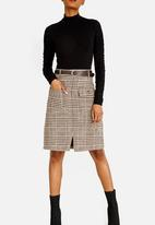 STYLE REPUBLIC - Belted Skirt Tan