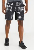Reebok Classic - Speedwick knit shorts black