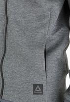 Reebok Classic - TS Varsity Jacket Dark Grey