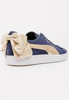 PUMA - Puma Suede Bow Varsity Sneakers Navy