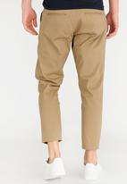 Only & Sons - Cropped Chino Slim Fit Pants Stone/Beige