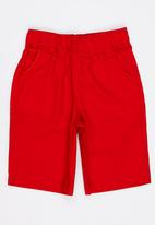 Twin Clothing - Plain Colour Shorts Red