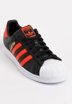 adidas Originals - adidas Superstar Leather Sneakers Black and White