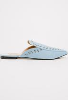 Footwork - Arya Mule Slides Blue