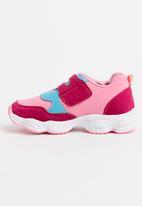 POP CANDY - Velcro strap sneaker - pink