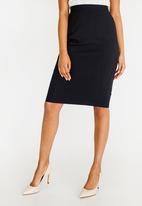 edit - Pencil Skirt Navy