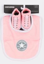 Converse - Chuck Taylor Bib & Bootie Set Pale Pink